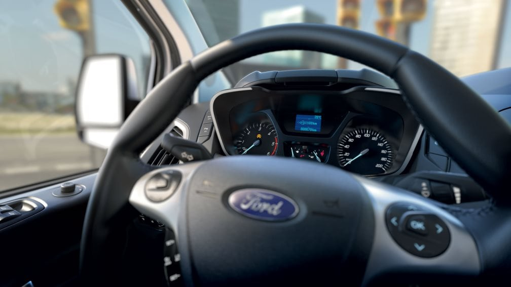 Ford Tourneo Custom - Start-stop