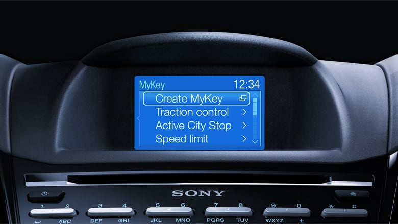 Ford Galaxy - MyKey