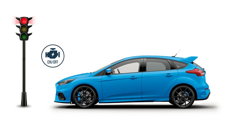 Ford Focus RS - Start-stop